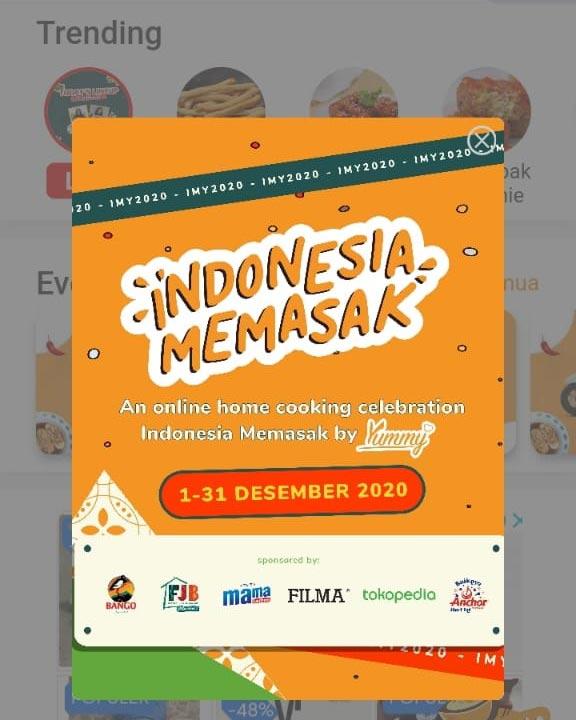 Yummy App - Indonesia Memasak